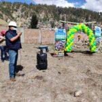 Inician construcción de laboratorio para análisis físico químico de agua y fertilidad de suelos en Andahuaylas