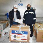 Región Apurímac recibe dotación de 25 mil 740 dosis de vacunas Pfizer